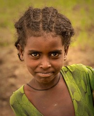 Farm Girl (Rod Waddington) Tags: africa african afrique afrika äthiopien ethiopia ethiopian ethnic etiopia ethnicity ethiopie etiopian tigray lalibela girl culture cultural child outdoor portrait people traditional