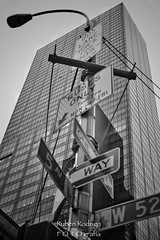 One way or another (Mister Blur) Tags: skyscraper building new york city nyc 5thav street blackandwhite bw blancoynegro newyorkcity one way another nikon d7100 35mm