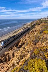 The Pacific Surfliner (Fletch in HI) Tags: canon 40d 28135mm delmar california ocean train