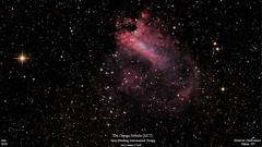 M17_July2018_HomCavObservatory_ReSizedDown2HD (homcavobservatory) Tags: homcav observatory messier 17 m17 omega swan checkmark horseshoe emission nebula sagittarius 8inch f7 criterion newtonian reflector canon 700d t5i dslr losmandy g11 mount gemini 2 zwo asi290mc astronomy astrophotography