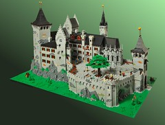 Christopher and Isabell's Castle ('LL') Tags: hohenzollern castle medieval lego palace
