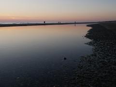 Abend am Meer (sozl) Tags: meer wasser strand abend abends abendstimmung küste dänemark henne hennestrand südwestjütland sydvestjylland water northsea nordsee beach evening eveningmood coast denmark