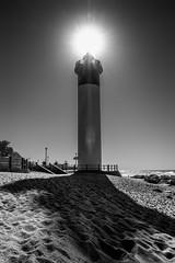 Umhlanga Rocks Lighthouse (Marcel Weichert) Tags: bw beach durban indianocean kwazulunatal lighthouse mar maritime ocean reed safety sea south southafrica umhlanga