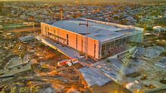 Antel Arena (Marcelo Campi Amateur photographer) Tags: antel arena stadium sunset building architecture arquitectura montevideo