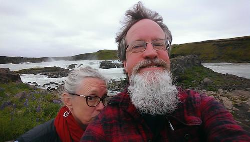 Urriðafoss selfie