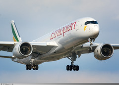 Airbus A350-941 Ethiopian Airlines ET-AVD (Clément W. - Jet 4U Aviation Photography) Tags: airbus a350941 ethiopian airlines egll lhr etavd