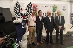 Rui Rio visitou os Jogos Europeus Universitários