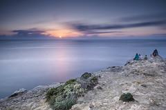 Sundown over the ocean (Sizun Eye) Tags: sunset sundown ocean atlantic waiting cliffs rocks longexposure le sizuneye nikond750 nikon1424mmf28 nikkor nisifilters seascape coast coastline nature landscape
