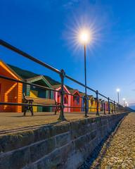 Saltburn Blue Hour (steveniceton.co.uk) Tags: beachhuts saltburn saltburnbythesea northyorkshire northyorkmoors bluehour