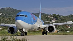 JSI/LGSK: TUI (ArkeFly) B7387-86N PH-TFD (Roland C.) Tags: airliner aircraft airplane aviation boeing b737 b738 b737800 phtfd arkefly tui jsi lgsk skiathos airport greece
