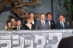 Jurassic World: Fallen Kingdom Japan Premiere Red Carpet: J. A. Bayona, Colin Trevorrow, Chris Pratt, Bryce Dallas Howard, Tamaki Hiroshi, Kimura Yoshino, Mitsushima Shinnosuke, Ishikawa Yui & Sumida Moeno