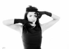 styled- fashion shoot, Surrey, BC (gks18) Tags: bw blackandwhite fashion canon lightroom nik noiretblanc people retro vintage portrait