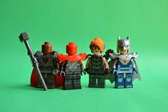Good and Evil (th_squirrel) Tags: lego dc comics steel superman batman first victim anitope wonder woman owlman earth3 minifig minifigs minifigures minifigure superheroes