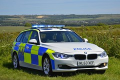 NL63 XEF (S11 AUN) Tags: durham constabulary bmw 330d 3series xdrive touring anpr police traffic car rpu roads policing unit 999 emergency nl63xef
