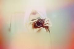 Sad (Brittany Nicol) Tags: film color selfportrait florida shower 50mm 35mm minolta canon self model girl