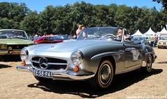 Mercedes 190 SL 1960 (XBXG) Tags: ee5894 mercedes 190 sl 1960 mercedes190sl mb benz mercedesbenz 190sl w121 b ii bii mercedesw121 cabriolet cabrio convertible roadster tourer concours délégance 2018 paleis het loo apeldoorn nederland holland netherlands paysbas vintage old german classic car auto automobile voiture ancienne allemande germany deutsch duits deutschland