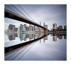 Brooklyn Bridge (bprice0715) Tags: canon canoneos5dmarkiii canon5dmarkiii architecture architecturephotography bridge brooklynbridge longexposure leefilters leebigstopper leelittlestopper city cityscape skyscraper buildings reflection manhattan nyc newyorkcity ny