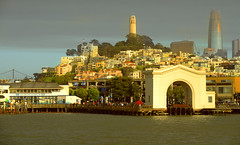 Pier 39:San Francisco (shishirmishra1) Tags: sanfrancisco baybridge california usa coast sunrise city cityscape building architecture travel explore