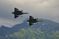 Grenoble Air Show 2018 (Nicolas Mareau) Tags: grenoble meetingaérien darktable aviation aircraft french mirage 2000 mirage2000