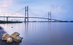 Cầu Cao Lãnh (@CuongDo) Tags: blue bridge town caolanh caolãnh sony sonya7mark2 ilcea7m2 kit lenskit longexposure river httpswwwfacebookcomdochicuong76 cuongdo