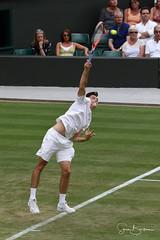 Fritz 6 20180705 (Steve TB) Tags: canon eos7dmarkii wimbledon 2018 tennis grandslam no1court fritz taylor taylorfritz