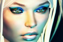 Blu... (heidi.rewell) Tags: theskinnery fashion wild lelutka semotion secondlife badhairday
