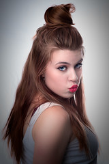 Pin Up (ClintHeeeerod) Tags: woman girl model pinup pretty glamour glamorous