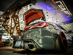NEXT LEVEL (Dave GRR) Tags: hyundai genesis bodykit fittedlifestyle fitted 2018 wing toronto autoshow wrap carbon olympus