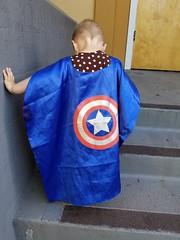 Captain America (quinn.anya) Tags: paul toddler superhero captainamerica cape