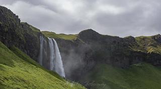 Seljalandsfoss and the opening