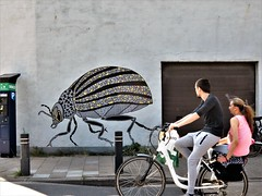 Pol Cosmo / Weidestraat - 14 jul 2018 (Ferdinand 'Ferre' Feys) Tags: polcosmo gent ghent gand belgium belgique belgië streetart artdelarue graffitiart graffiti graff urbanart urbanarte arteurbano ferdinandfeys