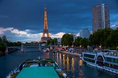 Eiffel Tower (julesnene) Tags: 2018fifaworldcupchampion canon7dmark2 canon7dmarkii canonefs1755mmf28isusm cityoflights eiffeltower fifa france juliasumangil paris seine seineriver bluehour julesnene travel îledefrance fr travelgirljulia