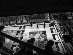 Escalator (jrabxr) Tags: contemporary modern fineart urban streetphotography color abstract