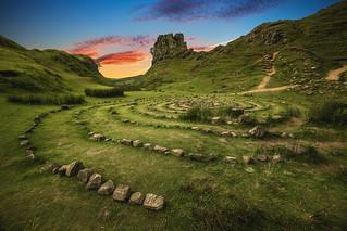 Scotland - Fairy Glen