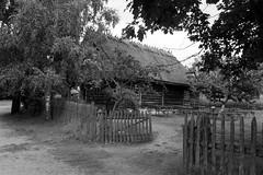 Scan-110921-0009 (marek.golkowski) Tags: poland polska skansen olsztynek analogphotography analog filmphotography monochrome pentax pentaxian cottage vilage