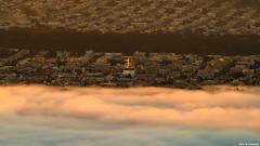 San Francisco Fog (davidyuweb) Tags: san francisco fog sanfrancisco lowfog golden hour sunrise colors 三藩市 霧