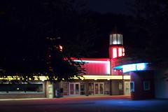 arcade, Glen Echo Park, Maryland, USA (Plan R) Tags: arcade glenecho moderne artdeco neon night evening bokeh leica m 240 noctilux 50mm