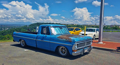 Morgantown Ford (creepingvinesimages) Tags: htt pickup truck ford classic blue outdoors morgantown westvirginia sky clouds pse14 topaz