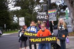 100_2677 (Haight Ashbury Neighborhood Peace Vigil) Tags: haight ashbury peace vigil iraq iran afghanistan syria yemen korea war moratorium golden gate park san francisco july 2018