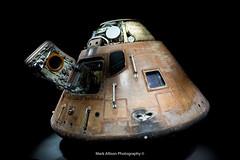 Apollo 14 Crew Capsule (Mark_Aviation) Tags: kennedy space centre rocket shuttle saturn v 5 atlantis moon apollo 14 crew capsule