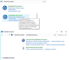 facilidadedeacesso (jimmypetersoncomercial) Tags: painel de controle win7 facilidade acesso