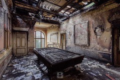 Manoir des grands brûlés, BEL (*Sébastien Cors' / PicturWall / iLOVEyourHOME*) Tags: sébastien cors picturwall love your home canon 60d 10 mm 6d 1635 f4 urbex exploration urbaine urban decay dark abandoned forgotten lost place abandonné oublié désaffecté friche abbandonato incolto dimenticato verlassen vergessen brache geschlossen abandonado olvidado baldío lr lightroom hdr photomatix manoir manor des grands brulés be bel belgique belgium