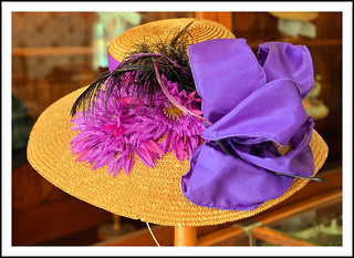 A Stylish Hat in Mrs. Cohen's Millinery Shop