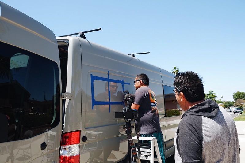 Sprinter Van Build Day 11 041918
