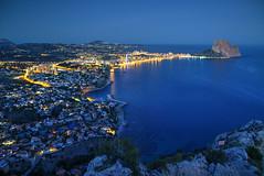 Calpe Evening (hapulcu) Tags: calp calpe espagne espanha españa ispanya mediterranean spagna spain valencia winter