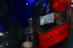 Red Label (Dreaming of the Sea) Tags: 2018 scotch macro closeup 7dwf nikond7200 tamronsp90mmf2811macro bokeh red blue