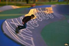 Riding the wall (Otacílio Rodrigues) Tags: skate garoto boy esporte sport pista lane parque park grafite graffiti resende brasil oro movimento moviment supershot