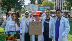 2018.06.30 WhiteCoats4FamiliesBelongTogether, Washington, DC USA 04233