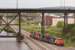 CN 2449 Duluth MN