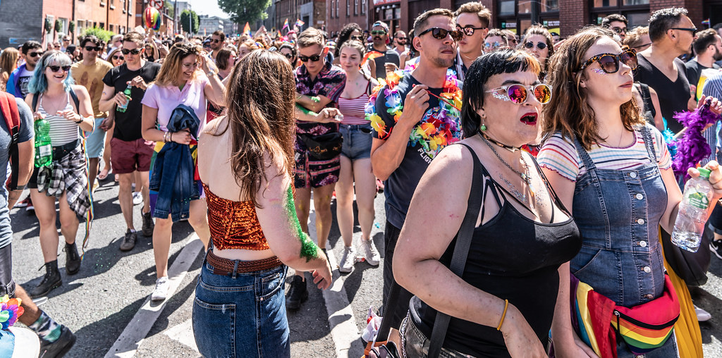 ABOUT SIXTY THOUSAND TOOK PART IN THE DUBLIN LGBTI+ PARADE TODAY[ SATURDAY 30 JUNE 2018] X-100244